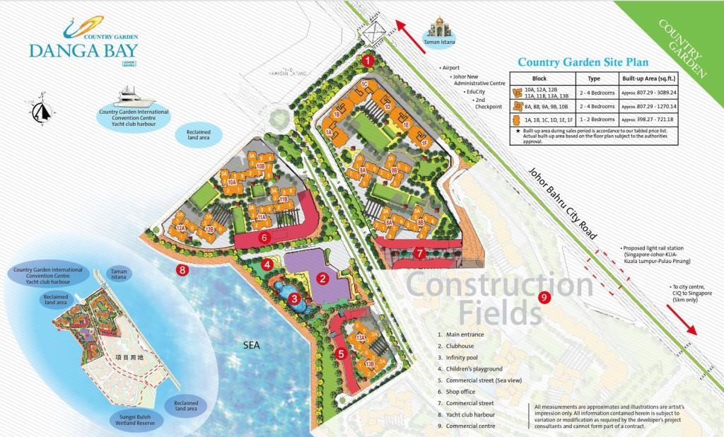country-garden-danga-bay-site-plan